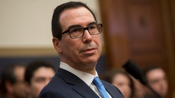 美國財政部長梅努欽。(圖:AFP)