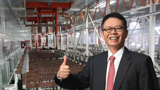 東陽總裁吳永祥對今年營運表現相當樂觀。(圖:東陽提供)