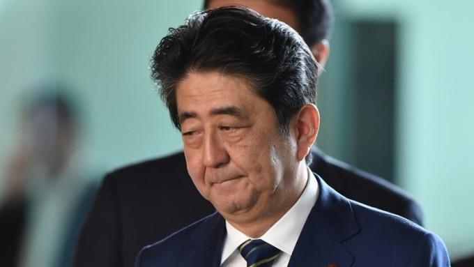 前首相小泉純一郎表示,安倍晉三難以在9月份的黨內選舉中確保獲得第3個任期。 (圖:AFP)
