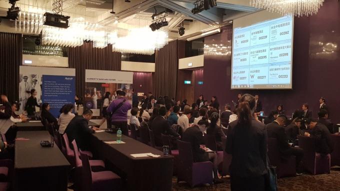 萬豪國際集團台灣區聯合招募吸引上百位求職者參與面試。(圖:萬豪提供)