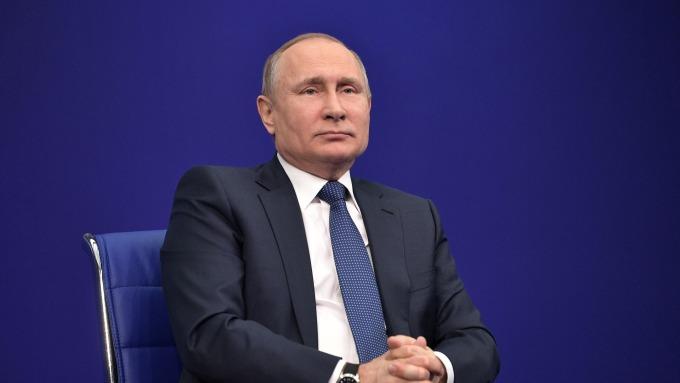 俄羅斯總統普丁示警,若西方國家再對敘利亞進行攻擊,將造成全球局勢混亂。(圖:AFP)