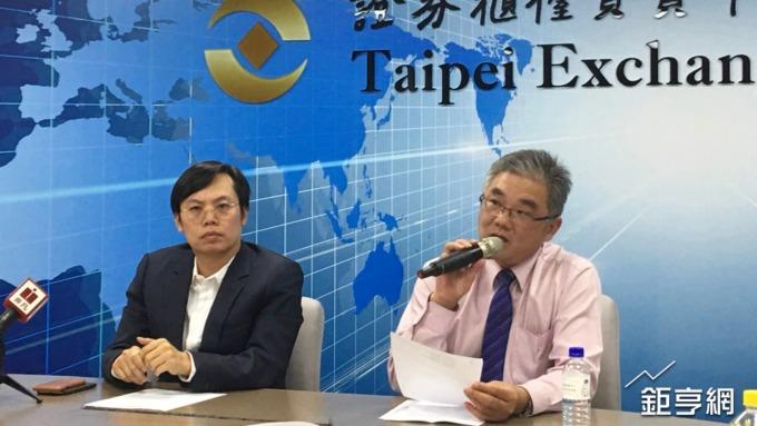 大宇資董事長凃俊光(左)。(鉅亨網資料照)