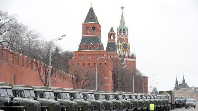 俄羅斯金融市場震盪。(圖:AFP)