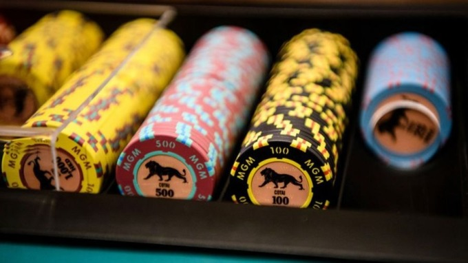 海南島料開賭,澳門博彩業備受威脅。 (圖:AFP)