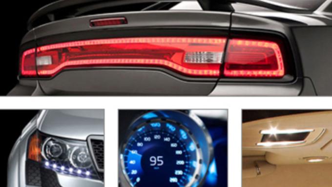 聯嘉LED車燈模組。(圖:取自聯嘉官網)