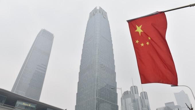 中國上季GDP增6.8%。(圖:AFP)