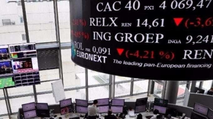 歐股今年表現恐怕還是會落後美股。(圖:AFP)