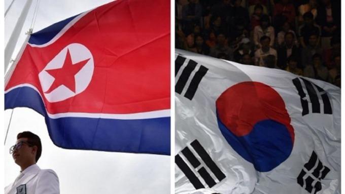 南北韓處於戰爭狀態的軍事衝突傳出有望結束。(圖:AFP)