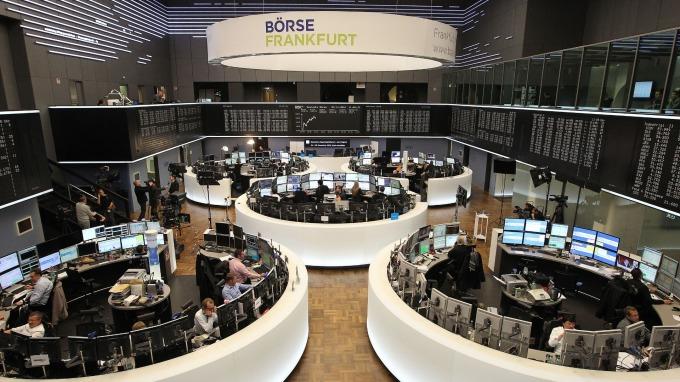 週二歐股早盤走揚。(圖:AFP)