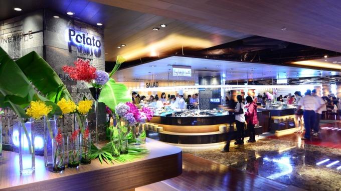 漢來海港餐廳巨蛋店。(圖:漢來美食提供)