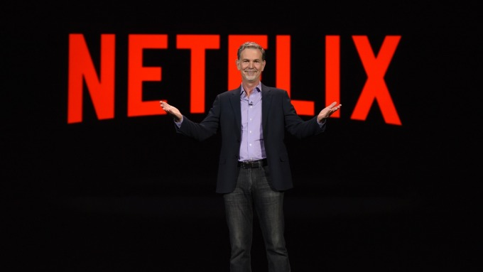 Netflix執行長Reed Hastings (圖:AFP)