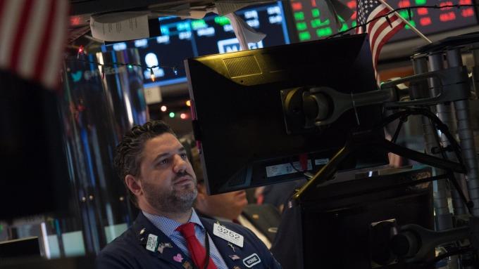 圖:AFP  美國指數期貨盤前走低約0.2%