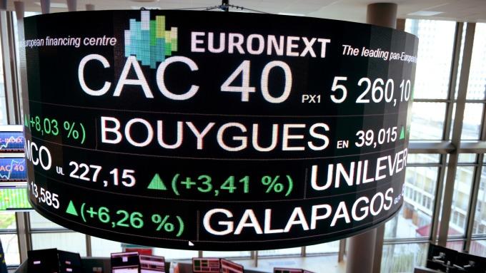 週五歐股早盤走揚。(圖:AFP)