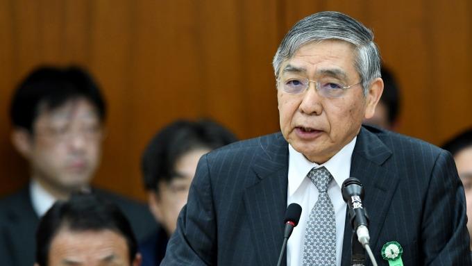 日本央行行長黑田東彥。(圖:AFP)