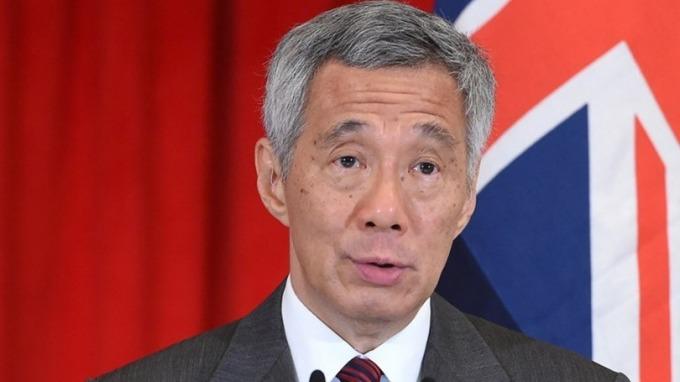 新加坡總理李顯龍。 (圖: AFP)