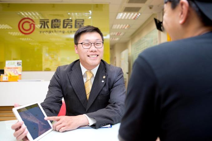 永慶房屋「聯賣制度」及「共戰文化」幫助李俊龍晉身百萬經紀人。