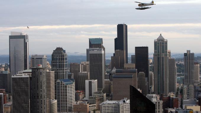 西雅圖房價連續18個月漲幅第一。(圖:AFP)