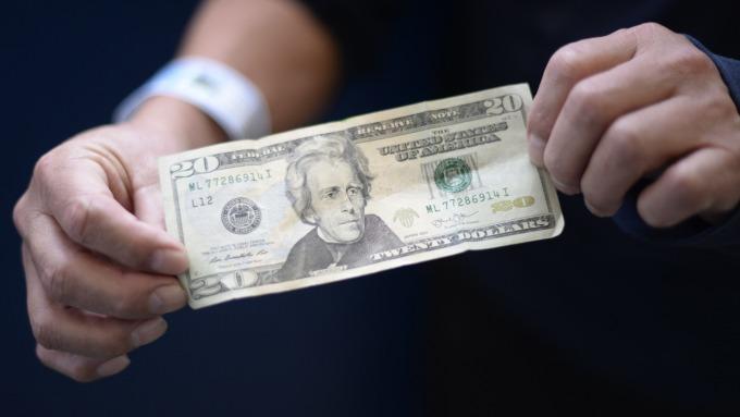 滙豐銀行看好美元前景。(圖:AFP)
