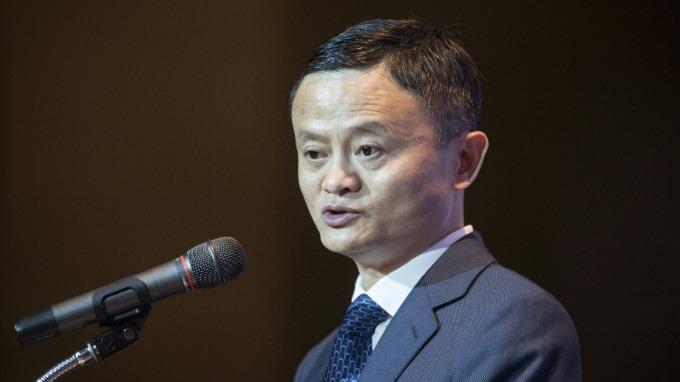 阿里巴巴董事長馬雲。(圖:AFP)