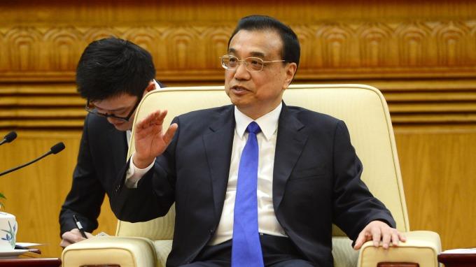 中共國務院總理李克強。(圖:AFP)
