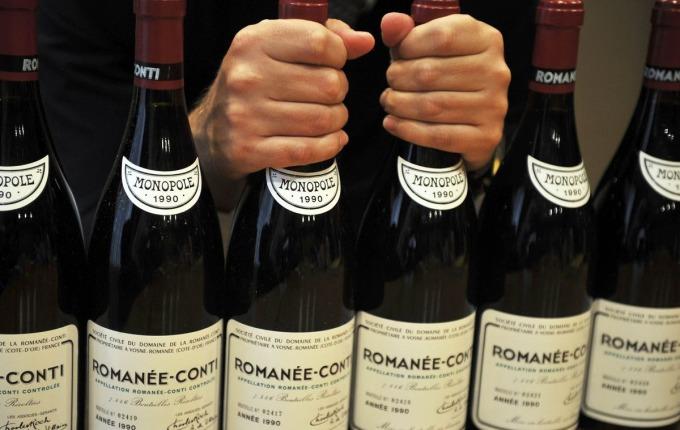 勃艮第的 Domaine de la Romanée-Conti 是 Sotheby's 2017 年最賣紅酒 / 圖:彭博