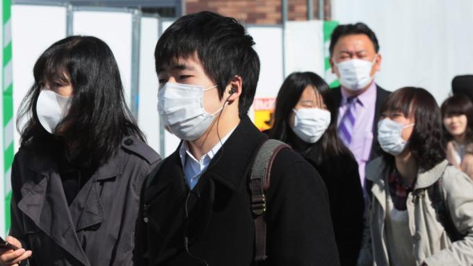 日本春天花粉症盛行(圖:AFP)