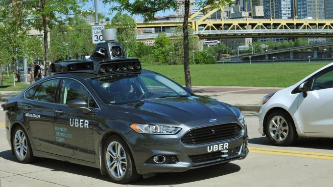 Uber自駕車測試今年3月下旬因車禍而緊急暫停。圖:AFP