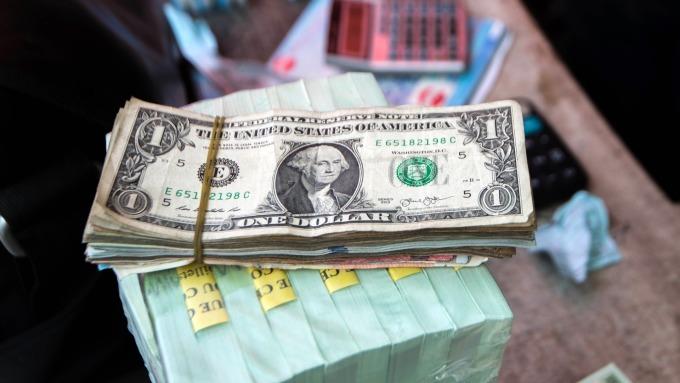 圖:AFP  美元週一反彈 收復早場跌幅