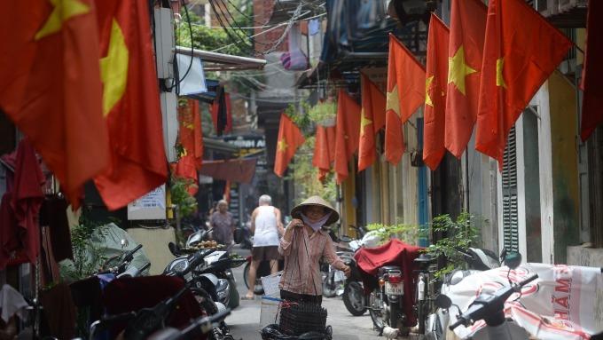 越南國旗(圖:AFP)