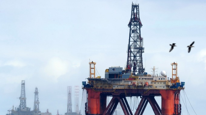 原油期貨價格走揚。(圖:AFP)
