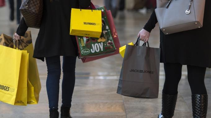圖:AFP 美國4月零售銷售上升0.3% 連續第二個月上升