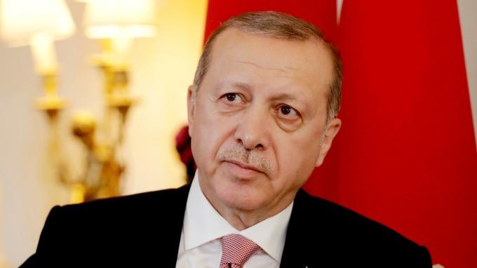 圖:AFP  土耳其總統艾爾多安
