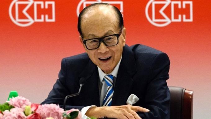 李嘉誠牽頭投資Saidrone 6000萬美元。 (圖:AFP)