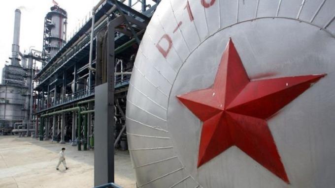 中國原油期貨交易爆熱。(圖:AFP)