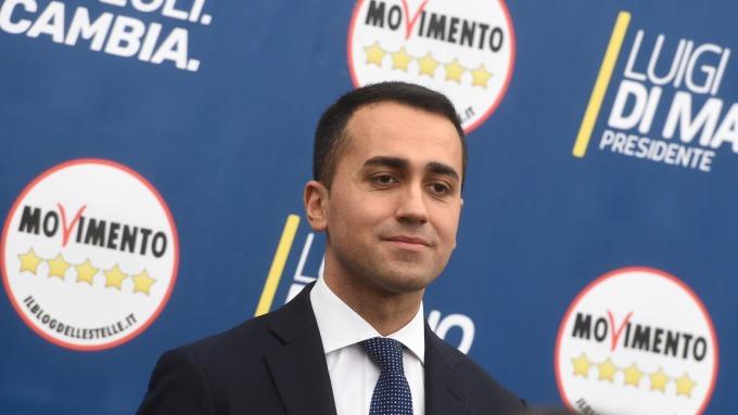 五星運動黨黨魁Di Maio。(圖:AFP)