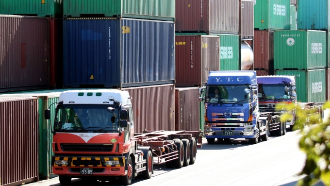 圖:AFP  貿易戰 衝擊巨大