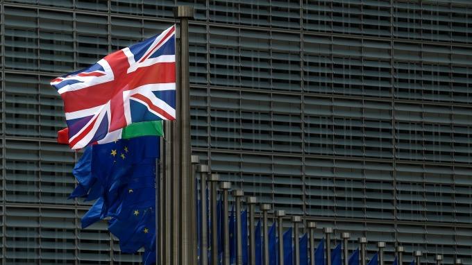 目前英國經濟增長和工資增速放緩。(圖:AFP)