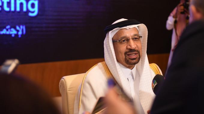 沙烏地阿拉伯能源部長Khaled al-Faleh(圖:AFP)
