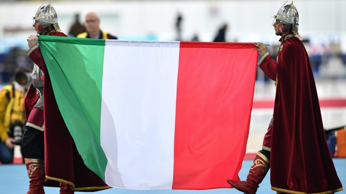 義大利政局動盪。(圖:AFP)