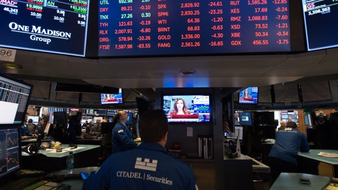 圖:AFP 美國股市漲勢可望再持續一段時間