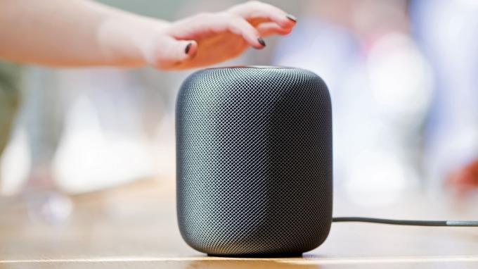 蘋果HomePod首季出貨估達60萬台,排名第四名。(圖片:AFP)