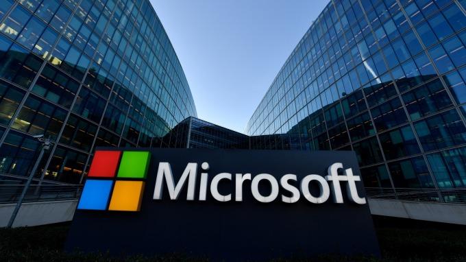 據估算,在利率攀高的情況下,微軟股票回報率依然亮眼。(圖:AFP)