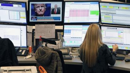 圖:AFP  歐洲股市週二上漲