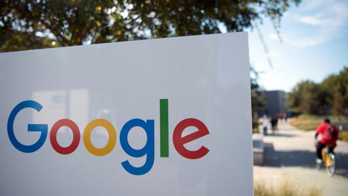 Google logo(圖:AFP)