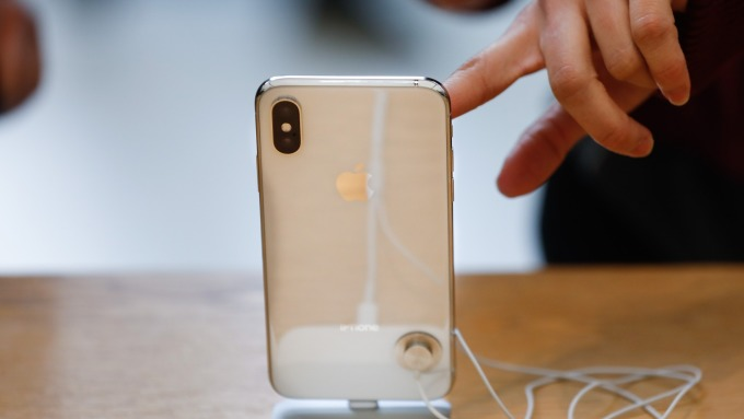 蘋果手機在美市占率達42%      (圖:AFP)