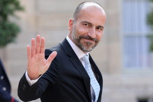 Uber執行長Dara Khosrowshahi (圖:AFP)