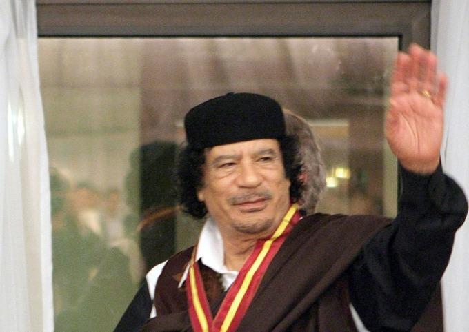 前利比亞強人格達費 (圖: AFP)