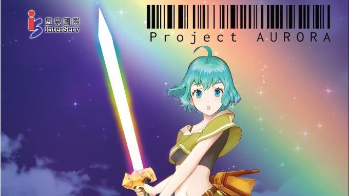 《Project Aurora》為二次元風格手遊。(圖:昱泉提供)
