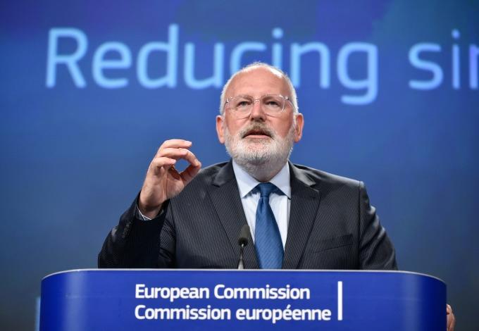 歐盟委員會副主席 Frans Timmermans (圖: AFP)