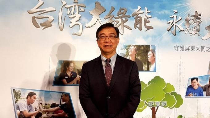 台灣大布局資安市場拚今年相關營收倍增。圖為總經理鄭俊卿 。(鉅亨網資料照)